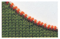 Knitting Pick Up Stitches Along Curved Edge : Picking Up Stitches