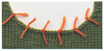 Pick Up Stitches Vogue Knitting : Picking Up Stitches