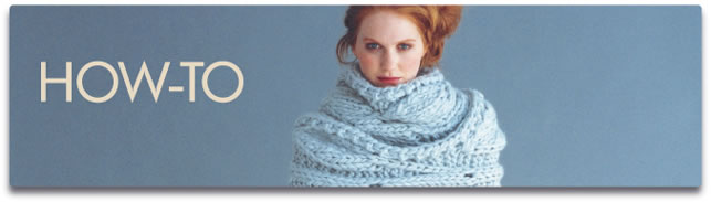 Vogue Knitting Pattern Abbreviations : Vogue Knitting How-to
