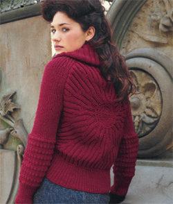 Free Knitting Pattern for a Ballet Wrap Cardigan for Toddlers