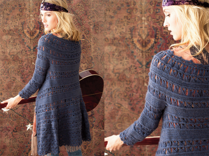 Vogue Knitting Crochet : Crochet fashion preview