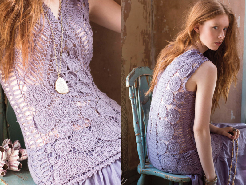 Knitting Vogue 2014 : Crochet fashion preview