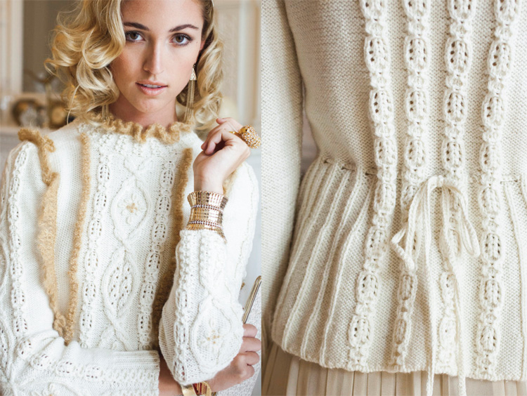 Vogue Knitting Pattern Archive : Holiday 2012 Fashion Preview