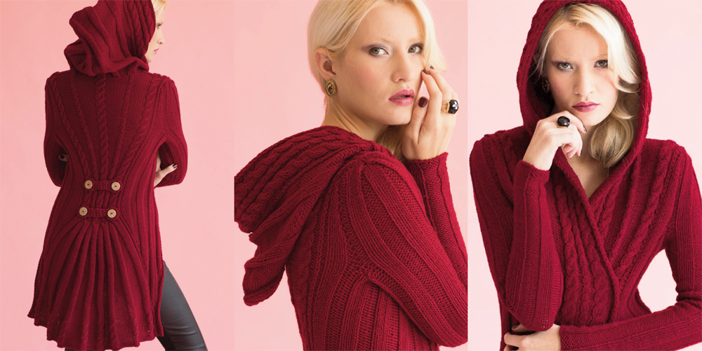 Shiri Mor Shares Her Top 3 Tips for the   Vogue Knitting Holiday 2014 Hooded Waistcoat