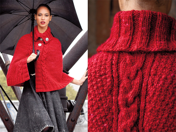Vogue Knitting Cape Pattern : Winter 2011/12 Fashion Preview