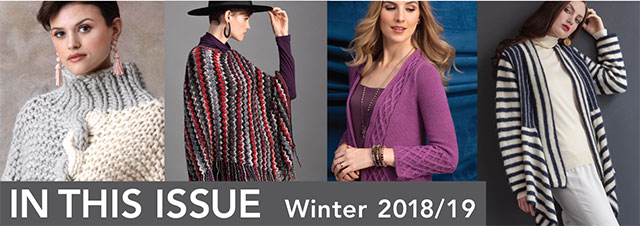 Vogue Knitting Winter 2018/19 : In This Issue