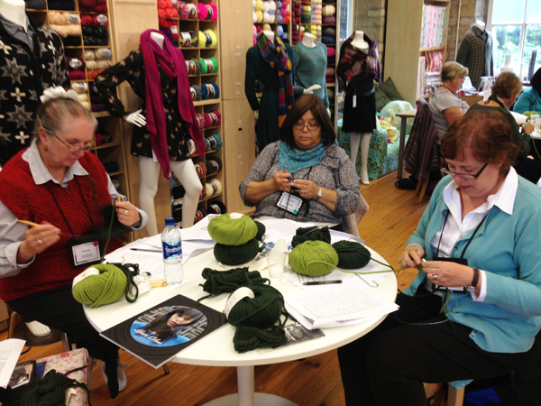 Vogue Knitting Tour: England and Wales
