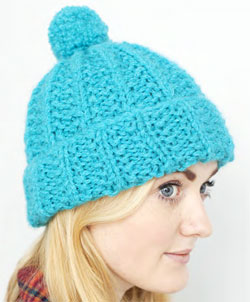Debbie Bliss Knitting Pattern Corrections : Debbie Bliss Moss Stitch Rib Hat