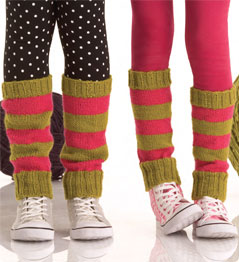KNITFreedom - How to Knit Legwarmers - Cabled Legwarmer