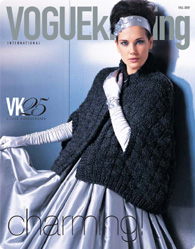 Vogue Knitting Cape Pattern : Exclusive 25th anniversary ?Charming!? pattern.