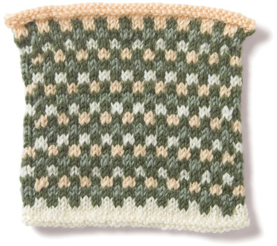 Vogue Knitting Stitch Glossary : into the woods